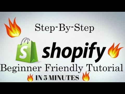 HOW TO CREATE A SHOPIFY STORE IN 5 MIN 2017 FOR FREE