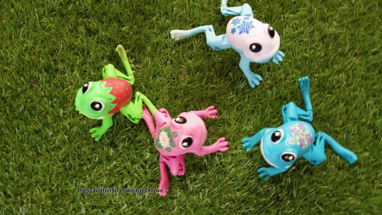 little live pets lil u0027 frog youtube