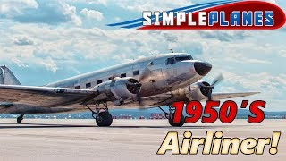 1950's Airliner Build!  - Simple Planes - Multiplayer - LIVE!