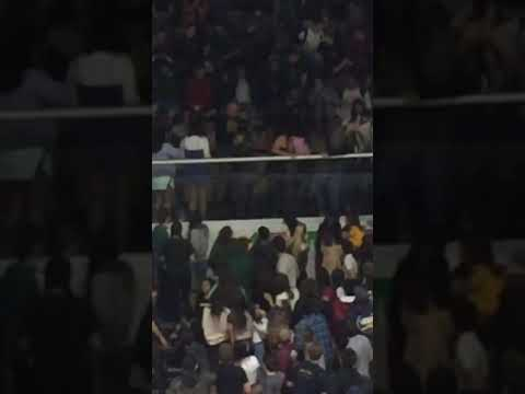 Moorpark High School pep rally fight clip 2