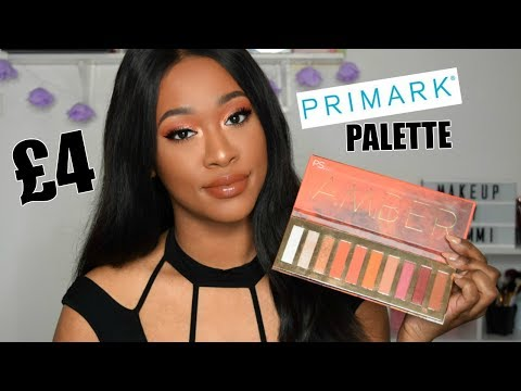 £4 PRIMARK 'AMBER' PALETTE! URBAN DECAY DUPE?