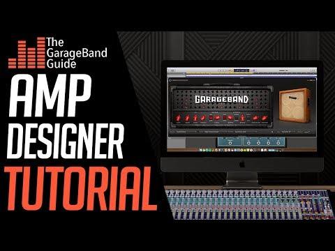 Garageband Amp Designer Tutorial - thegaragebandguide com