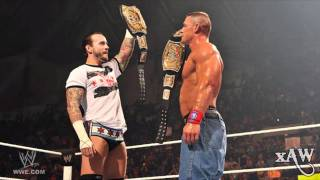 "2011: CM Punk 2nd *NEW* WWE Theme ""Cult of Personality"" (HD) + Download Link"