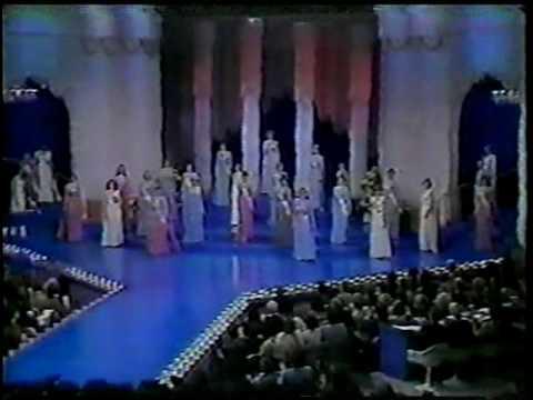 Miss Canada 1977, 30th Anniversary.  ,  Parade of 27 Representatives.