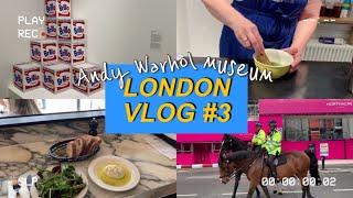 [런던 VLOG] 걸어서 런던한바퀴/ 앤디워홀 전시회/…