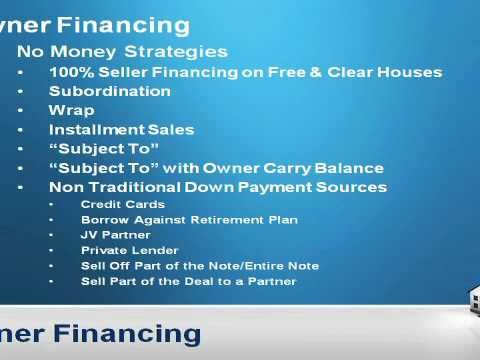 How to buy real estate with no money down - no money down real estate investing