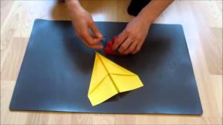 Kaip pasidaryti gera popierini lėktuvėli