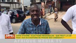 CÔTE D'IVOIRE / ÉLECTIONS RÉGIONALES : QUE PEUT LA CEI FACE AUX ACCUSATIONS...