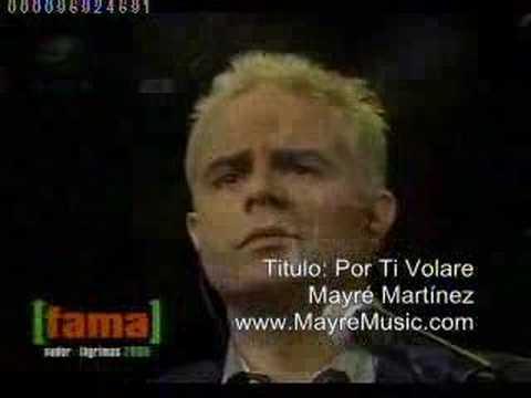 Mayr mart nez por ti volare youtube for Porte volare