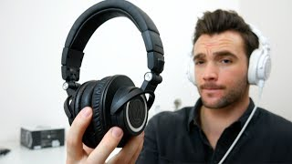 Audio-Technica ATH-M50xBT Bluetooth Headphones Review & Comparison vs ATH-M50x