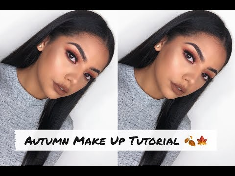 Autumn Make Up Tutorial | Andrea Roman