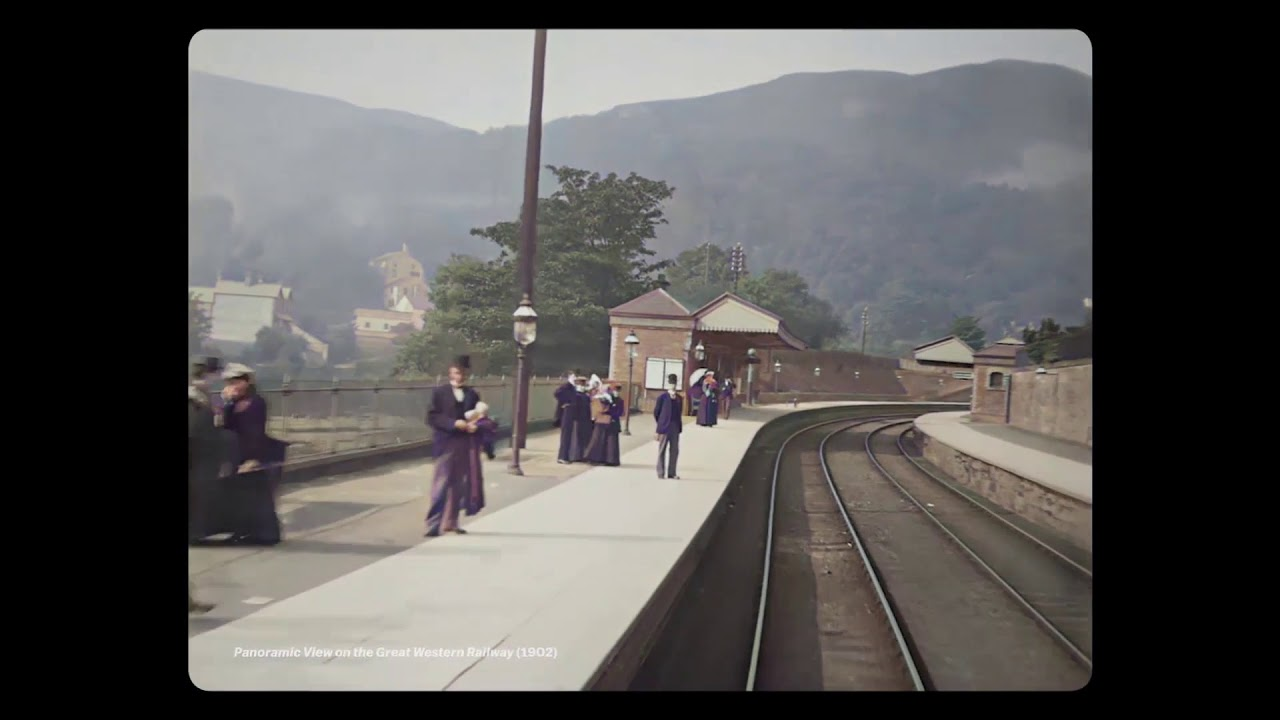 Download The IMAX of the 1890s -  ending colorized by DeOldify