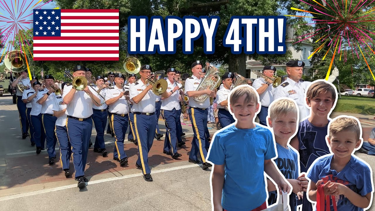 4th of July Parade in Fort Thomas, KY - Celebrating America's Independence Day