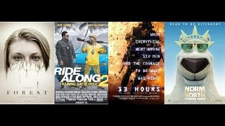 AJ's Movie Reviews: Ride Along 2, 13 Hours, The Forest & Norm of the North(1-15-16)