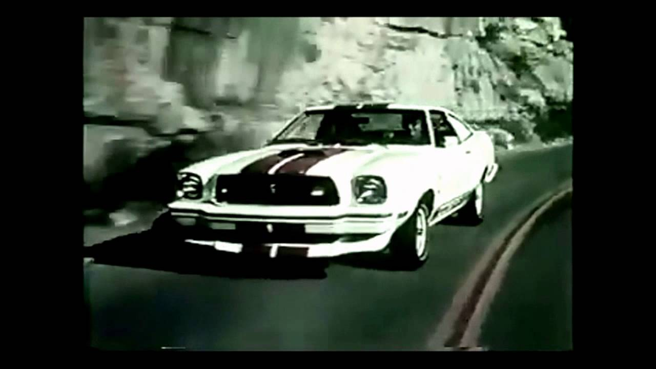 Ford Mustang Ii Cobra Commercial 1976 Youtube