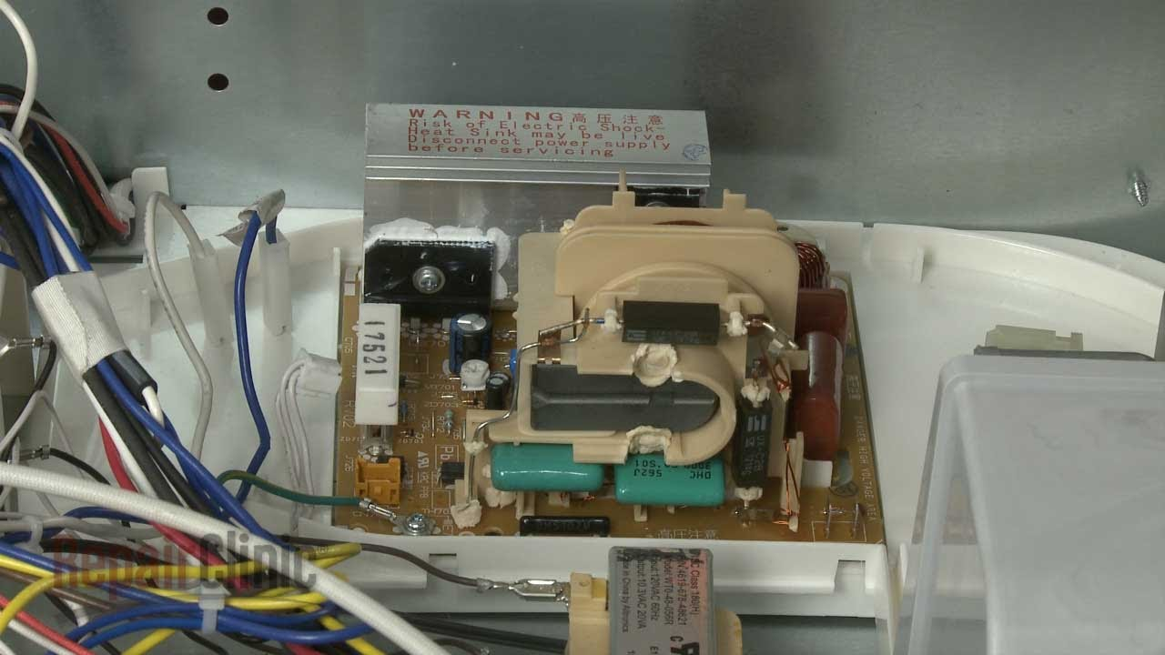 Kitchenaid Microwave Inverter Board Replacement #W10217711 on