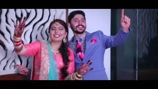 Jaanu Jaanu Song Punjabi Wedding Highlight Puneet & Jashan | Sushil Dhiman Photography