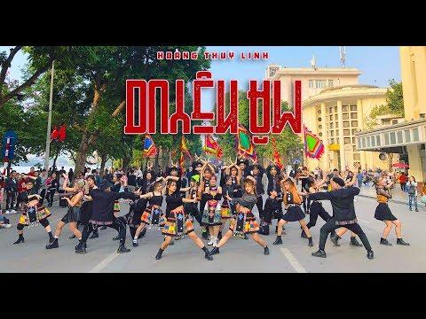 [NHẢY CỰC BỐC TRÊN PHỐ ĐI BỘ] DUYÊN ÂM - HOÀNG THÙY LINH Dance Cover & Choreography by C.A.C