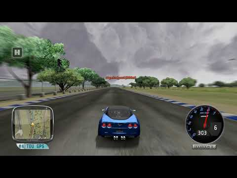 Test Drive Unlimited Platinum | Corvette ZR1 Drifting