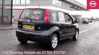 2007  Nissan Note  Acenta  1.4l Cayman Blue BJ57HKH for sale at Toomey Nissan Southend