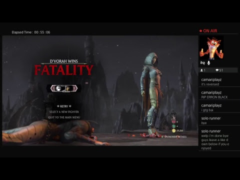 MKX playing characters i'm not good at/haven't played with