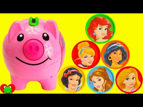 Princess Coins Turns Into Magical Surprises In Piggy Bank