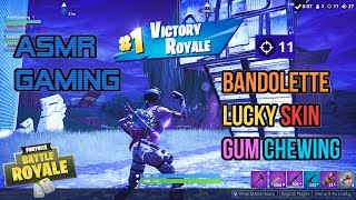 ASMR Gaming - France Fortnite Bandolette Peau relaxante Chewing Sounds 🎮Controller Sounds - Whispering😴💤