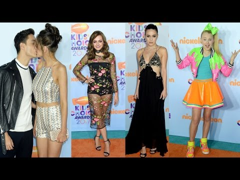 10 Worst Dresses Celebrities At Kids Choice Awards 2017    Pastimers