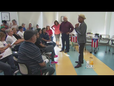 Boston's Caribbean Community Talk About Hurricane Relief For Puerto Rico