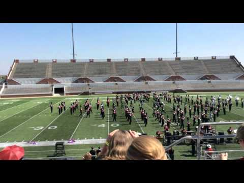 Burleson High School Marching Band 2015. 9/26/15 Mansfield Preview of Champions-Marching Festival