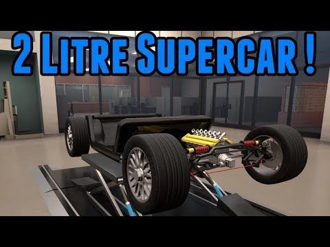 Automation Challenge - 2 litre Supercar
