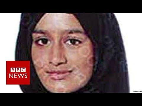 The moment a journalist found British IS schoolgirl in Syria - BBC News
