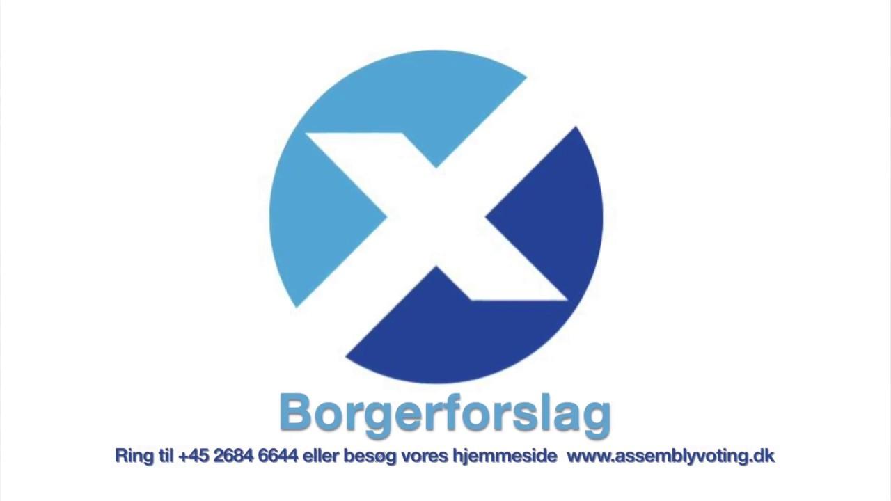 Borgerforslag - Lokaldemokrati 2.0