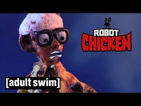 3 Zombie Attacks | Robot Chicken | Adult Swim