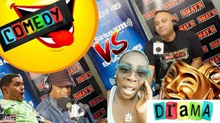 Russell Peters & Gina Yashere (Comedy VS Drama)