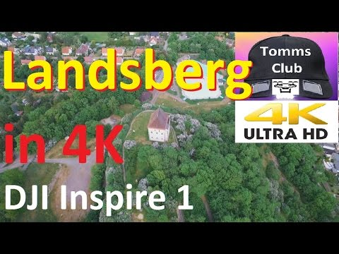 landsberg saxony anhalt from the air in 4k dji inspire 1 drone youtube. Black Bedroom Furniture Sets. Home Design Ideas