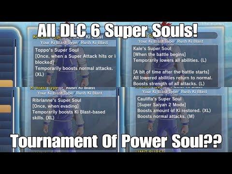Xenoverse 2 DLC 6 All 8 Different Super Souls Breakdown!