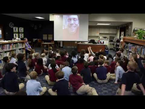 Third Grade Video Chat with Dr. Timothy Morton '02