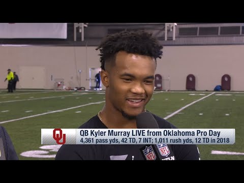 Kyler Murray Breaks Down his Pro Day Performance