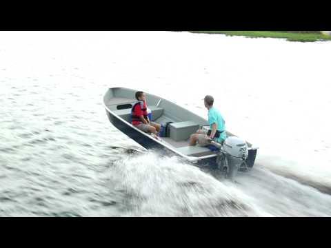 Honda Marine and MirroCraft 3696 Deep Fisherman II