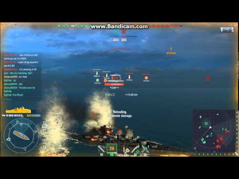 World of WarShips: Episode 12- Bad aim can yield good result