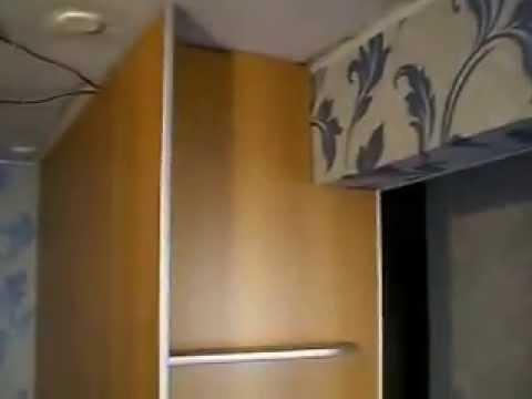 шкаф купе задняя стенка встройка 3 круглые полки