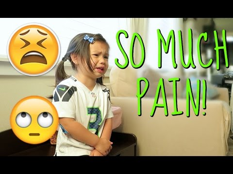 Thumbnail: IN SO MUCH PAIN! - August 16, 2016 - ItsJudysLife Vlogs