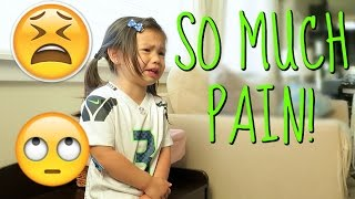IN SO MUCH PAIN! - August 16, 2016 -  ItsJudysLife Vlogs