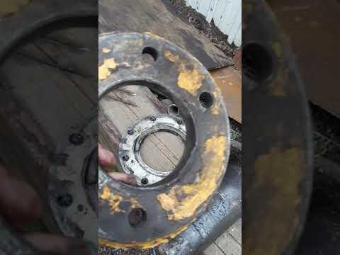 Продолжаем ремонт сочленения погрузчика XCMG LV500F