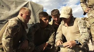 A Taste of Desert Life for 45 Commando 13.10.14