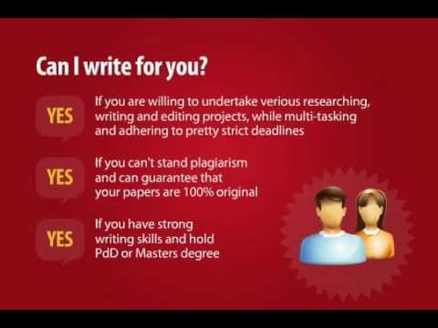 Freelance Writing Jobs from Home for Creative Thinkers -- Be Our Freelance Writer