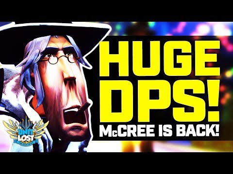 Overwatch - HUGE DPS McCree! McRightClick is BACK! thumbnail