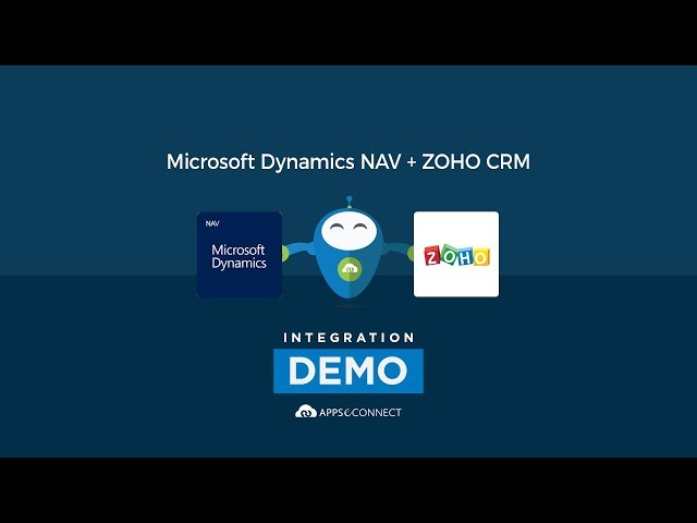Integrate Microsoft Dynamics NAV ERP and Zoho CRM | APPSeCONNECT