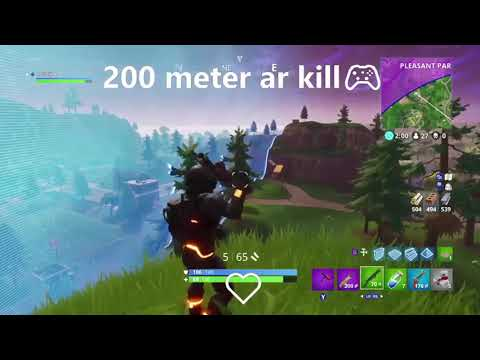 200 meter scar kill!!!